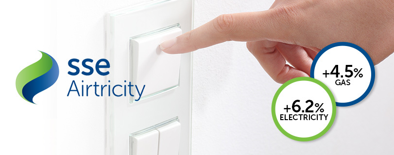 Image SSE Airtricity to increase its energy prices from 1st April