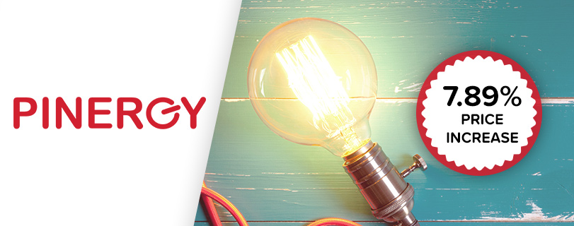Image Pinergy the latest energy supplier to increase its prices