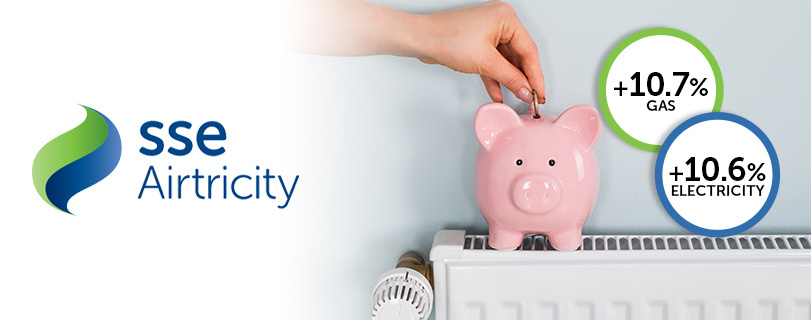 Image SSE Airtricity latest energy supplier to increase its prices