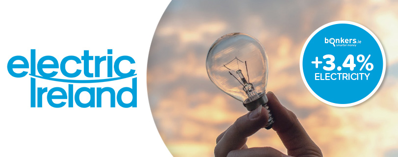 Image Electric Ireland to increase the price of its electricity from October 1st