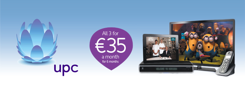 Image UPC announces new deals for all customers