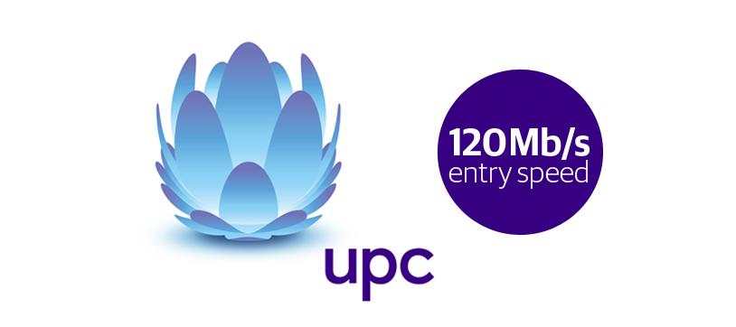 Image UPC Raises Basic Broadband Speed To 120Mb