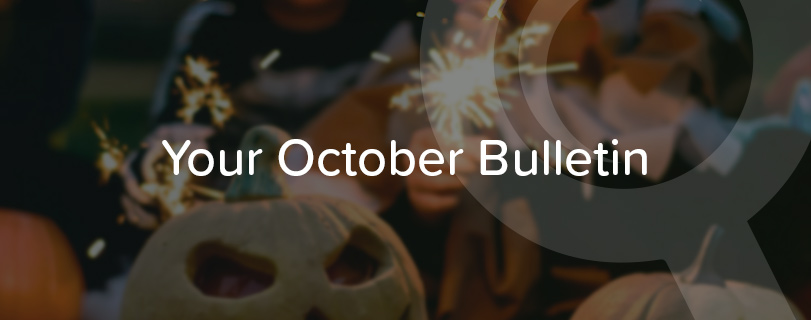 Image Your monthly round-up: October 2018